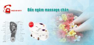 Bồn ngâm massage chân