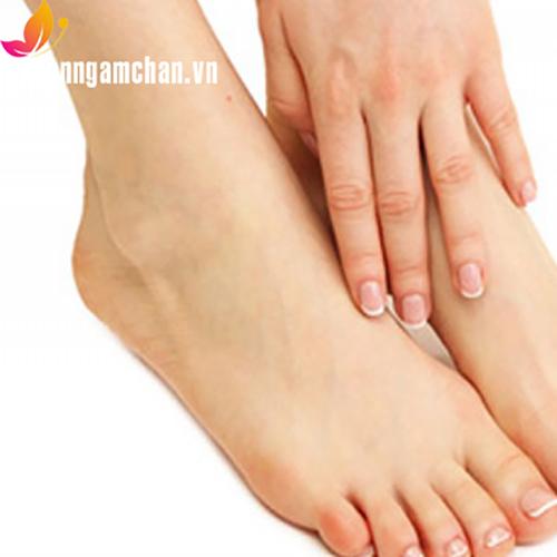 Bồn ngâm chân trị đau xương bàn chân