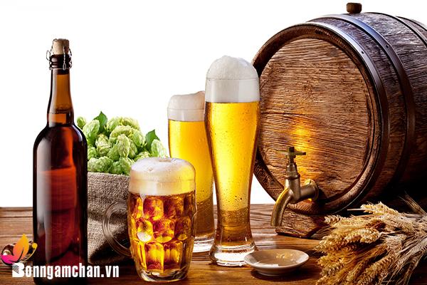 Uống rượu bia có nên sử dụng máy ngâm chân?